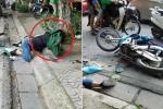 Clip: Người bị tai nạn nằm gục ở lề đường, dân vây quanh không ai đỡ dậy