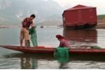 Video: Xem đồng bào người Thái quăng bát quái bắt tôm sông thu 2 triệu/ngày