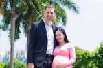 Lan Phương 'Cả một đời ân oán' sinh con gái đầu lòng với chồng Tây