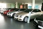Thị trường xe ô tô cũ: Giá giảm vẫn ế khách