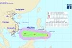 Biển Đông sắp hứng cơn bão đầu tiên trong năm 2018