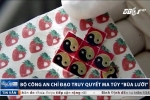Bộ Công an truy quét ma túy tem giấy