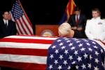 Nhung hinh anh dau tien trong le tang Thuong nghi sy John McCain hinh anh 4