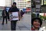 Gia đình bé Nhật Linh nỗ lực xin chữ ký đòi công lý cho con