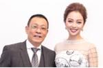 Jennifer Phạm gợi cảm làm MC chương trình Tết cùng nhà báo Lại Văn Sâm