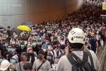 Video: Hàng nghìn người Hong Kong tiếp tục biểu tình rầm rộ phản đối luật dẫn độ