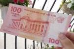 Tiền giấy 100 đồng lưu niệm tăng giá gấp đôi sau một năm ra mắt