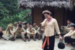 Sao mai Lương Nguyệt Anh hoá thôn nữ đón 'Bộ đội về làng' mừng chiến thắng Điện Biên Phủ
