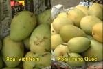 Cách đơn giản phân biệt xoài Việt Nam và Trung Quốc