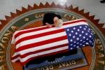 Nhung hinh anh dau tien trong le tang Thuong nghi sy John McCain hinh anh 1