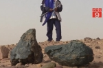 Đổ xô đi săn thiên thạch ở sa mạc Sahara