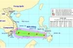 Áp thấp nhiệt đới khả năng thành bão tiến sát Biển Đông