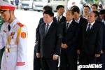 Lãnh đạo Đài Tiếng nói Việt Nam viếng Chủ tịch nước Trần Đại Quang