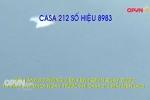 Hình ảnh trước khi máy bay Casa-212 mất liên lạc
