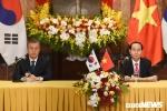 Lãnh đạo Việt - Hàn tổ chức họp báo chung: Việt Nam là đối tác hợp tác trọng tâm của Hàn Quốc