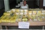 Bắt 40 kg ma túy đá, 120.000 viên thuốc lắc trên đường từ Lào vào Việt Nam tiêu thụ