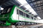 Ảnh: Ba đoàn tàu trăm tấn 'yên vị' trên đường sắt Cát Linh - Hà Đông