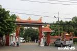 Trung tâm hỏa táng Bình Hưng Hòa (phường Bình Hưng Hòa, quận Bình Tân, TP.HCM), nơi xe tang chở thi thể anh Lê Triều Vũ đến làm lễ hỏa táng.