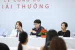 Cao Thien Trang den ung ho dan chi Truong Ngoc Anh lam giam khao hinh anh 2