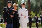 Nhung hinh anh dau tien trong le tang Thuong nghi sy John McCain hinh anh 2