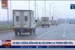Clip: Cận cảnh xe đặc chủng dẫn giải bị cáo Đinh La Thăng đến tòa