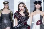 Thanh Hằng, Kỳ Duyên đầy thần thái cùng Hoàng Thùy khuấy động show thời trang