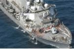 Vì sao tàu khu trục Mỹ bị tàu hàng Philippines đâm nát?