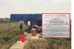 Tìm người thân cô gái trẻ chết trong cống nước giữa cánh đồng ở Nam Định
