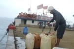 Quảng Ngãi điều gấp 30 nghìn lít xăng ra đảo Lý Sơn