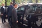 Những hình ảnh đầu tiên của tỷ phú Jack Ma tại Hà Nội