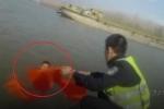 Tài xế say xỉn nhảy sông trốn cảnh sát rồi kiệt sức vì bơi quá lâu