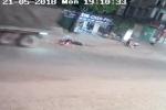 Tài xế container tông chết bé gái rồi bỏ trốn