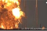 Tên lửa SpaceX nổ tung ngay trước giờ phóng, khói đen bao trùm bầu trời