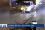 Truy tìm tài xế xe tải lao thẳng vào CSGT Hà Nội