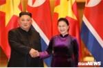 Chủ tịch Quốc hội Nguyễn Thị Kim Ngân tiếp Chủ tịch Kim Jong-un
