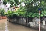 Video: Mưa lớn giữa trưa, đường phố Hà Nội ngập sâu