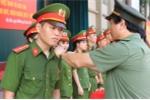 Học viện Cảnh sát nhân dân phong hàm sỹ quan cho hơn 1.000 học viên
