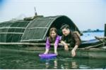 Cuộc sống vạn chài được tái hiện qua bộ ảnh cưới trên sông Hương của cặp đôi trẻ