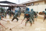 Quân đội huy động hơn 7.000 chiến sỹ giúp dân khắc phục hậu quả thiên tai
