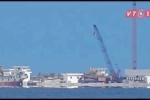 Trung Quốc xây dựng công trình trái phép trên Biển Đông