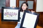 Hoàng Yến Chibi xúc động khi đươc fan từ Mỹ gửi tặng ngôi sao mang tên mình