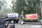 Linh xa đưa linh cữu nguyên Thủ tướng Phan Văn Khải về đất mẹ Củ Chi