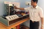 Trần Văn Dũng - thầy giáo sáng tạo mô hình Hệ thống đỗ xe tự động