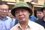 Cán bộ Bộ TN&MT đi chơi golf: Bộ trưởng Trần Hồng Hà trả lời ngay tại vùng lũ