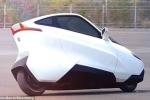 Cận cảnh 'phương tiện di chuyển của tương lai': Chiếc xe 2 bánh không người lái