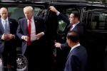 Video: Cận cảnh Tổng thống Trump bước ra xe, dự phiên họp quan trọng nhất tại APEC