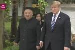 Video: Ông Trump và ông Kim ra vườn đi dạo