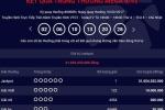 Vé số Vietlott trúng giải Jackpot 31 tỷ đồng phát hành tại Hà Nội