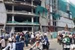 Rơi xuống đất từ công trình đang xây dựng, 3 công nhân nguy kịch