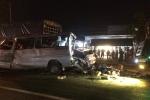 Tai nạn liên hoàn trên quốc lộ 1A, 5 người thương vong